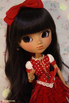 "pullip doll | Custom Pullip doll ""VALENTINA"" by Nerea Pozo"