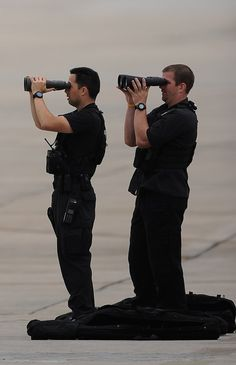 Secret Service Counter Assault Team Sniper Spotters
