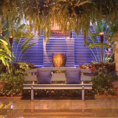 SHINTAMANI RESORT - RECEPTION GARDEN, SIEM REAP designed by BENSLEY Landscape Architecture, Landscape Design, Architecture Design, Siem Reap, Tropical Garden, Porch Swing, Outdoor Furniture, Outdoor Decor, Reception