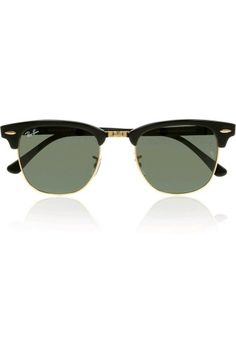 178e4c02e Black acetate, gold metal Crystal green lenses, signature on lens, lens  Come in a designer-stamped tan leather case UV protection