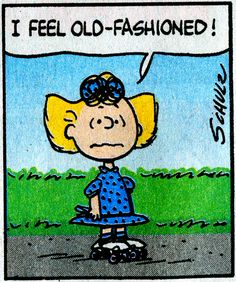I feel Old Fashioned says Sally Brown