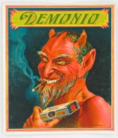 Demonio cigar litho