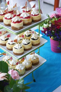 Island Bites Amaretto Mini Cheesecakes Almonds Cheesecake and