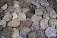 Silver is a great way for middle and lower class folks to put their money into safer assets, since its price is so much more accessible than gold. Clock Antique, Survival Prepping, Survival Stuff, Emergency Preparedness, 72 Hour Kits, Coin Worth, Antiques For Sale, Gold Price, Coin Collecting