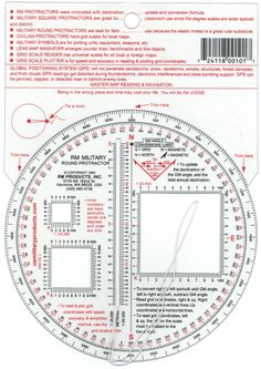 RM PRODUCTS Military Round Protractor -- Additional details @ http://www.amazon.com/gp/product/B00K03V0BA/?tag=buyoutdoorgadgets.com-20&pcd=100716000029