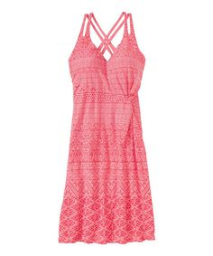 Look at this #zulilyfind! Watermelon Knotted Nanda Dress - Women #zulilyfinds