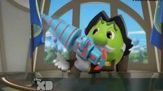 President Spheros with Spooka Bazooka