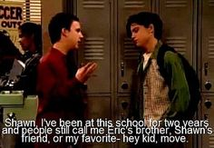funny boy meets world quotes | boy meets world quotes - Google Images on we heart it / visual ...