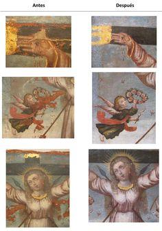 Painting Conservation; Conservacion de pintura
