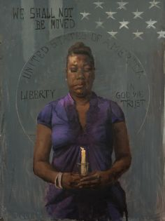 """Artist Honors The Black Mothers Who've Lost Their Sons To Police Brutality - """"I want to show that the women are really the leaders, through their gentleness, nurturing and tenacity. Women are revolutionaries."""""""
