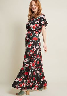 Inspired Spirit Floral Maxi Dress