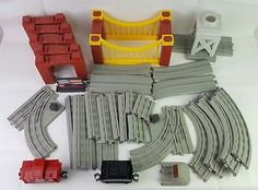 Lionel Little Lines Polar Express Train Fisher Price GeoTrax Lot Tracks Cars Etc