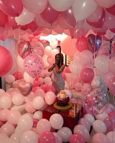 ✔ Room Dcoration For Birthday Surprise Balloons Birthday Goals, 18th Birthday Party, Birthday Photos, It's Your Birthday, Birthday Wishes, Girl Birthday, Happy Birthday, Birthday Room Surprise, Hotel Birthday Parties