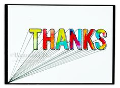 THANKS (for ruining my video) by UnderstandBlue - Cards and Paper Crafts at Splitcoaststampers