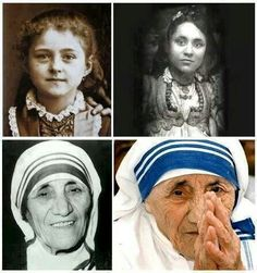 Mother Theresa - Throughout her life. Amazing woman!