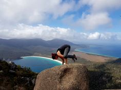 Yoga on Mt. Amos! Click the link to see the full post on my blog :)