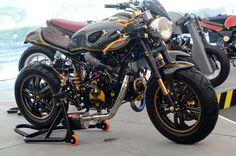 honda msx thailand Sidecar, Honda Motorcycles, Cars And Motorcycles, Honda Grom Custom, Grom Bike, Mini Chopper, Mini Bike, Go Kart, Small World