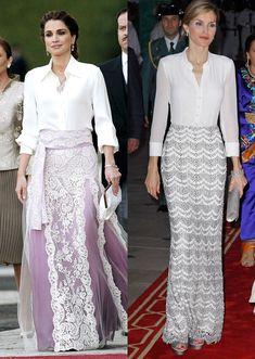 ¿Qué tienen en común (y qué no) la Reina Letizia y Rania de Jordania?