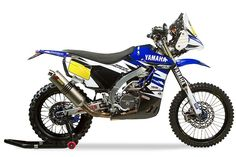 Yamaha Rally Replica Available for Purchase Yamaha will sell copies of its Yamaha Rally to customers. The machine is identical to that used by the Official Yamaha Rally team. Rally Raid, Racing News, Tonne, Dirtbikes, Image House, My Ride, Yamaha, Character Design, Motorcycle