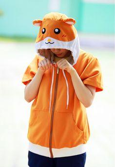 Hamster Animal Hoodie - 4kigurumi.com  http://www.4kigurumi.com/hamster-animal-hoodie