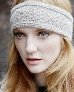 9c6b29f3597 Inca Headband Knitting Pattern - Purl Alpaca Designs Knitted Headband