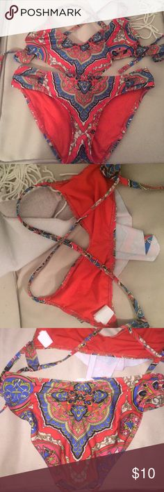 Bikini Super cute! Great condition!! Lucky Brand Swim Bikinis