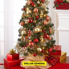 find the perfect tree lights and ornaments at your local dollar general