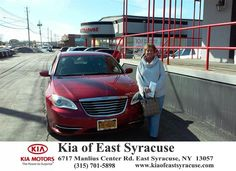 I went to Kia of East Syracuse looking for a quality used car. Bobby was extremely helpful. He got me into the vehicle the same day. Sam, the used car manager, was extremely helpful as well. I am very satisfied with the entire process and would urge anyone looking for a new or used vehicle to go straight to Bobby! Thank you Kia of East Syracuse! - shannon stone, Thursday, March 19, 2015  http://www.kiaofeastsyracuse.com/?utm_source=Flickr&utm_medium=DMaxxPhoto&utm_campaign=DeliveryMaxx