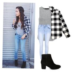 """""""Rowan Blanchard:Style Steal"""" by tamarabeautyx ❤ liked on Polyvore featuring rag & bone, Glamorous and Steve Madden"""