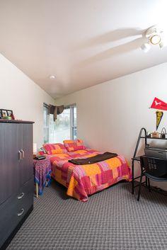 Corner bedroom at Packard