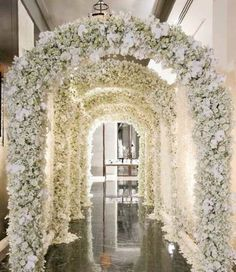 Destination Wedding Event Planning Ideas and Tips Wedding Ceremony Ideas, Wedding Entrance, Wedding Events, Wedding Reception, Wedding Arches, Glamorous Wedding, Trendy Wedding, Floral Wedding, Luxury Wedding Venues