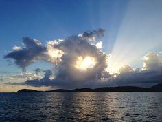 A cliché sunset. Photo: Matt Gallion.