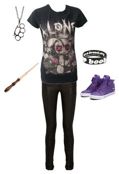 """Untitled #220"" by bloodmoon31 ❤ liked on Polyvore featuring Keep A Breast, Supra and Helmut Lang"