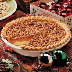 Paradise Pumpkin Pie Recipe -Whenever I take this pie to a holiday party, potluck supper or bake sale, I take along copies of the recipe, too—I'm sure to be asked for it. With the pie's very rich taste, even a sliver is satisfying!