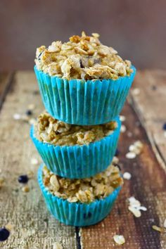 Blueberry Jicama Muffins have delicious blueberries and a sweet streusel topping. A glorious breakfast or snack anytime! Gluten Free Kitchen, Gluten Free Baking, Streusel Topping For Muffins, Jicama Recipe, Kinds Of Desserts, Best Gluten Free Recipes, Gluten Free Muffins, Muffin Recipes, Sweet Bread