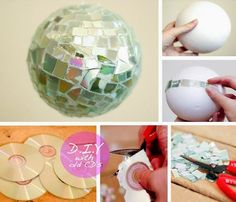 Recycling Ideas With CDs and DVDs