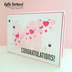 Kylie Bertucci | Perpetual Birthday Calendar Stamp Set | Wedding/Anniversary Card - Click on the picture to see more of Kylie's designs. #stampinup #handmadecard #handmade #kyliebertucci #weddingcard #anniversarycard