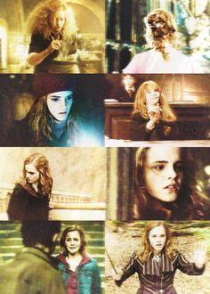 """""""Me!"""" said Hermione. """"Books! And cleverness! There are more important things--friendship and bravery!"""""""