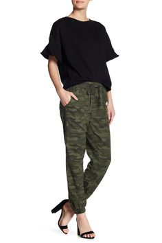 Camo Print Woven Joggers by Sanctuary on @nordstrom_rack