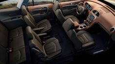 Periodic vehicle maintenance, which is of great importance for driver and passenger safety, has a positive effect not only on safety but also on the performance of the car provided … Interior Photo, Luxury Interior, 2015 Buick, First Class Seats, Luxury Crossovers, Crossover Suv, Buick Enclave, Ford, Take A Seat