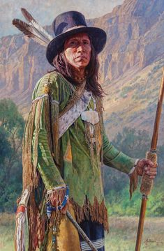 Martin Grelle, Man of the Comancheria, oil, 46 x - Southwest Art Magazine Native American Pictures, Native American Artists, American Indian Art, Native American History, American Indians, American Symbols, American Women, Westerns, Tribal Images