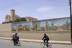 Wall painting - Lasta Street Asmara - Eritrea