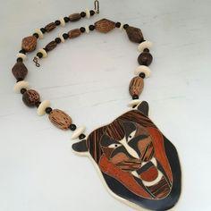 I found Bigfoot! #bigfoot #bear #necklace