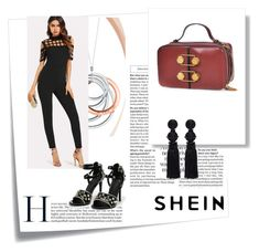 """""""Shein 2"""" by medinicab ❤ liked on Polyvore featuring Post-It, Oscar de la Renta and Tiffany & Co."""