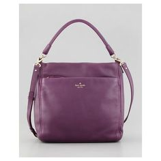 COBBLE HILL CURTIS HOBO BAG, PLUM - KATE SPADE NEW YORK $348.00