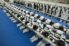Inside the 'Star Wars: The Force Awakens' stormtrooper dressing room (Wired UK)