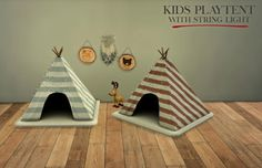 Leo Sims – Kids Playtent for The Sims 4 Indoor Tent For Kids, Indoor Tents, Kids Tents, Play Tents, Toddler Tent, Sims 4 Toddler, Sims 4 Tsr, Sims Cc, The Sims 4 Bebes