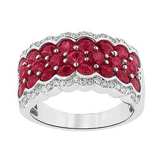 Fred Meyer Jewelers | Ruby and Diamond Ring