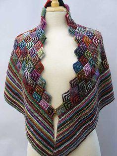 Irina's Shawl Knit Pattern