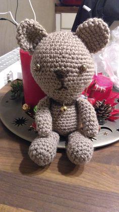 Teddy häkeln für den Nikolausstiefel